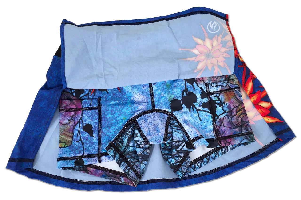 INKnBURN Women's Ryu Skirt Shorts with Pockets