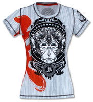 INKnBURN Women's Monkey Tech Shirt Front
