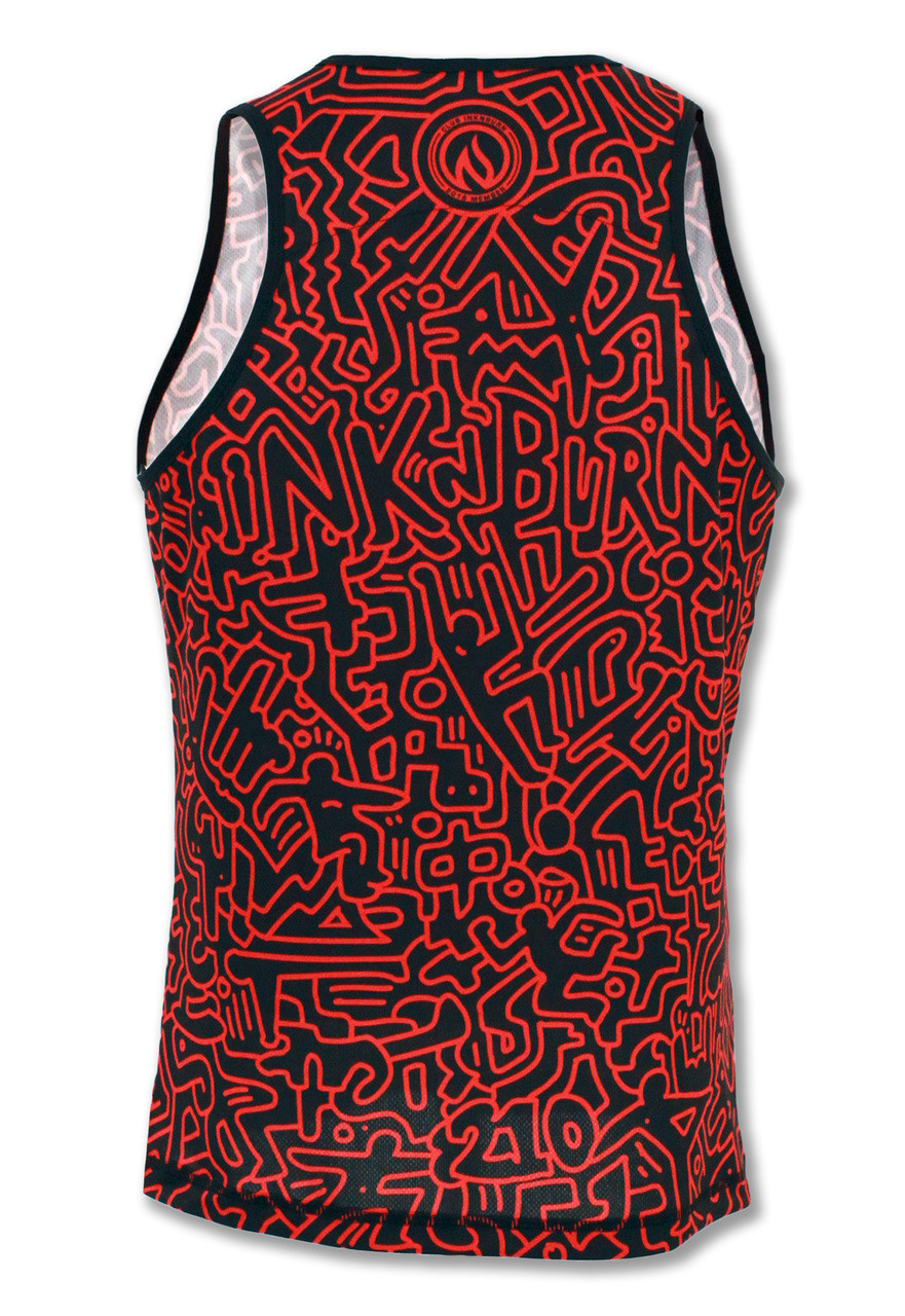 Club INB Men's Redline Singlet Back