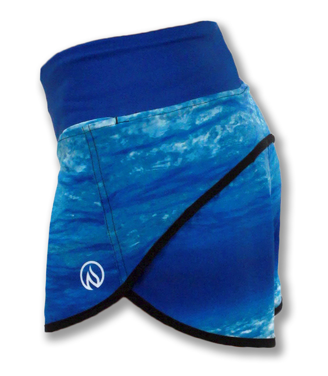 INKnBURN Water Shorts Side Waistband Up