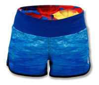 INKnBURN Water Shorts Front Waistband Up