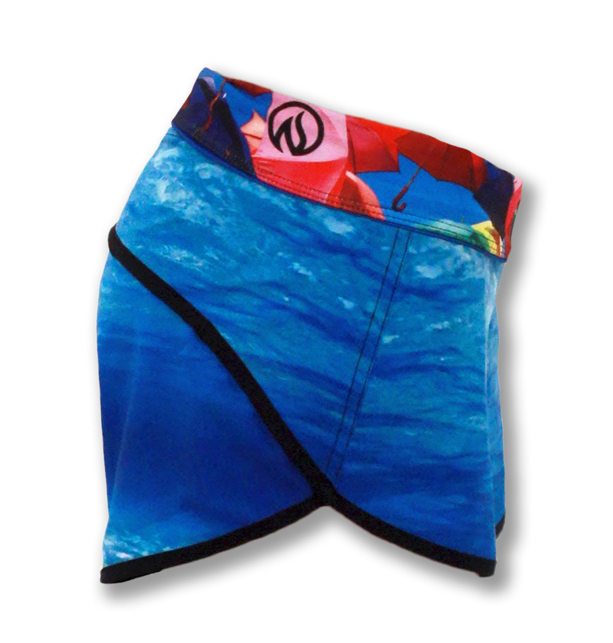 INKnBURN Water Shorts Side Waistband Down