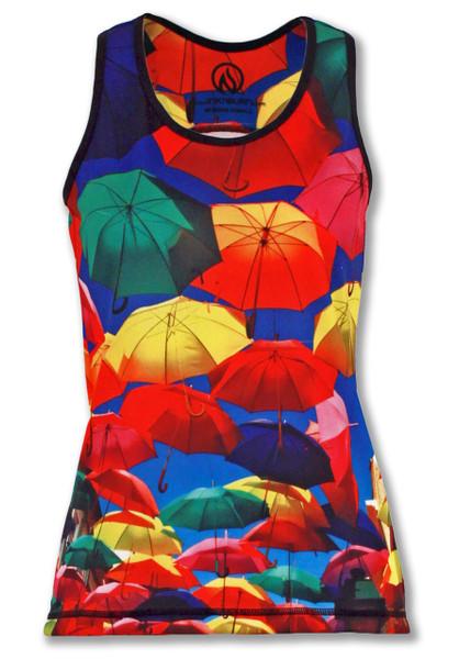 INKnBURN Women's Umbrella Singlet Front