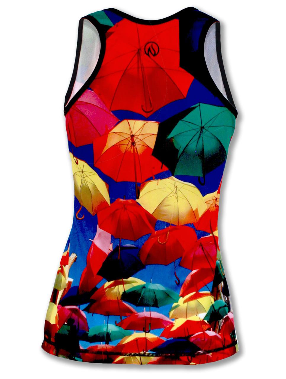 INKnBURN Women's Umbrella Singlet Back