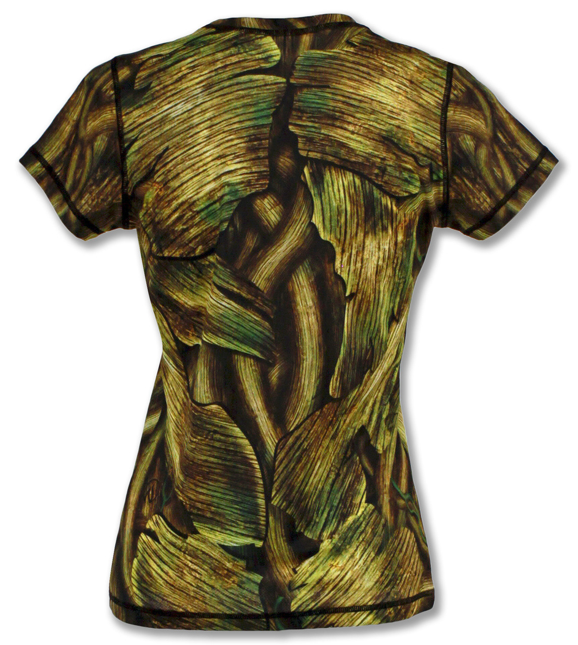 INKnBURN Women's Shady Tech Shirt Front