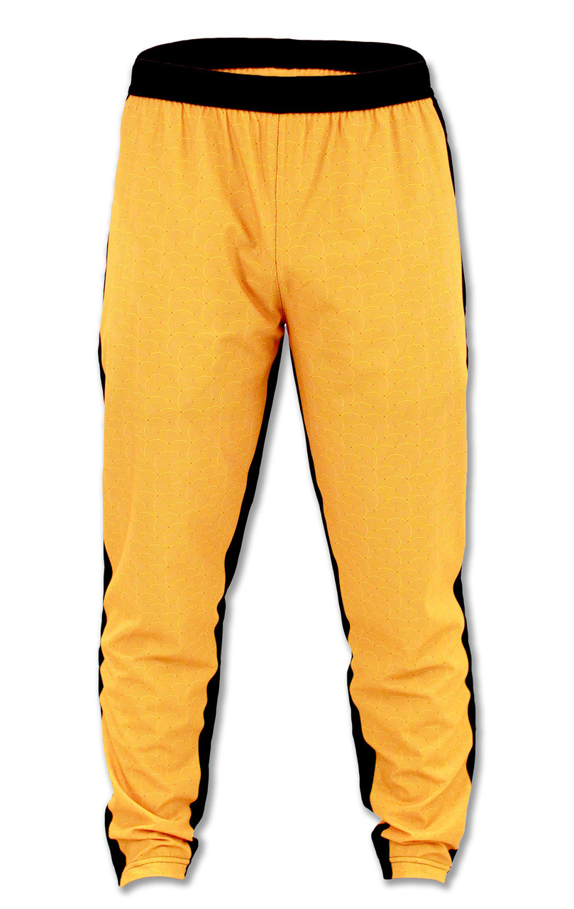 INKnBURN Men's April Fu Track Pants Front