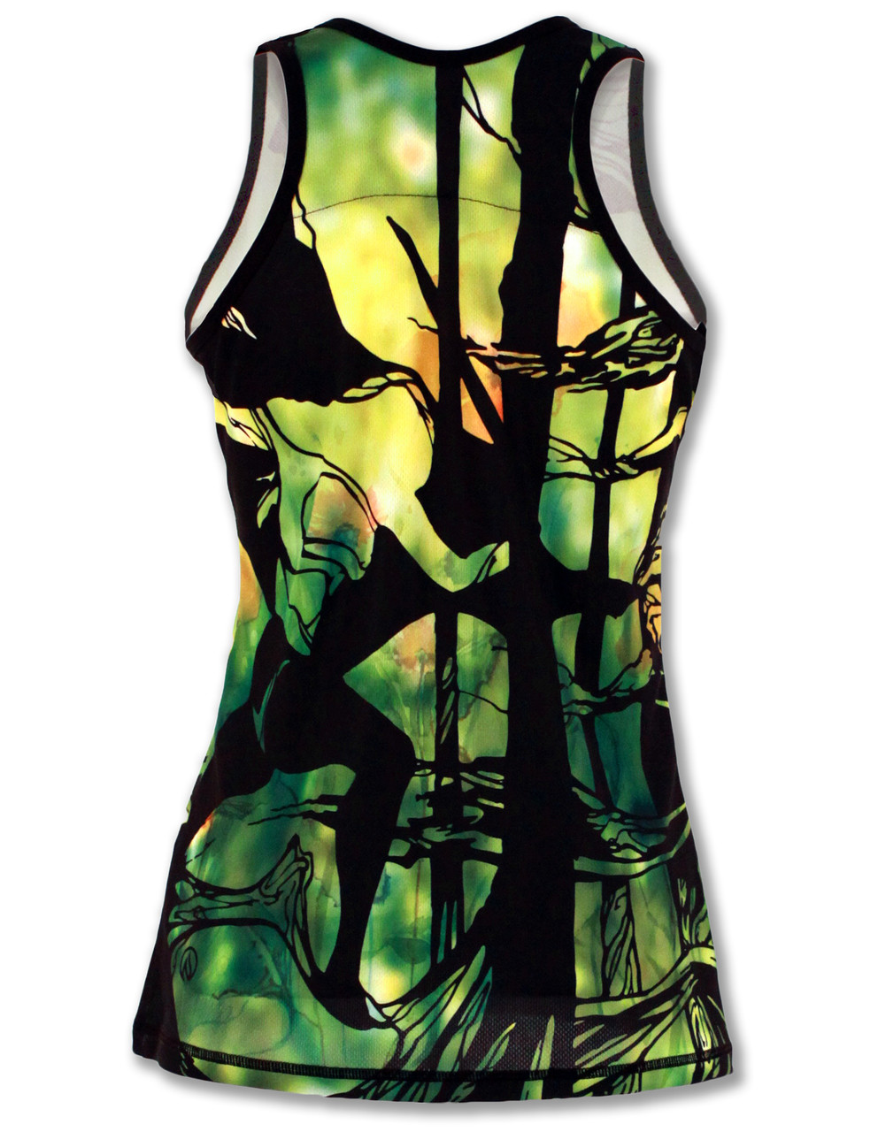 INKnBURN Women's Motion Singlet Back