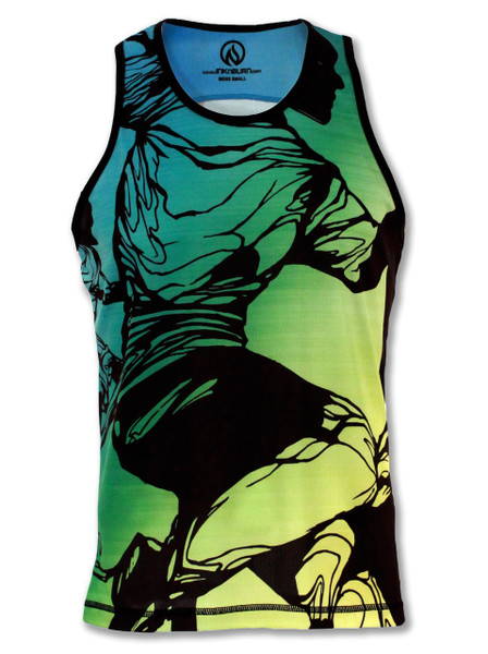 INKnBURN Men's Motion Singlet Front