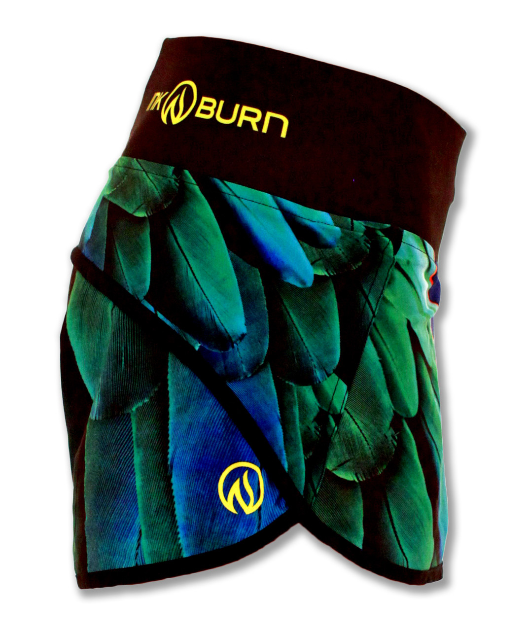 INKnBURN Wing Shorts Right Side Waistband Up