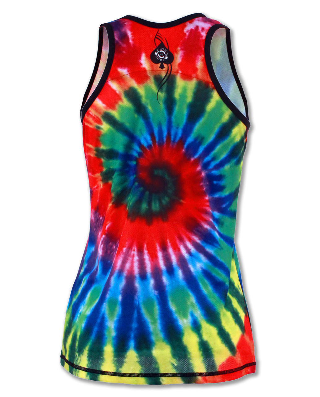 INKnBURN Women's Run or Tie Die Singlet Back