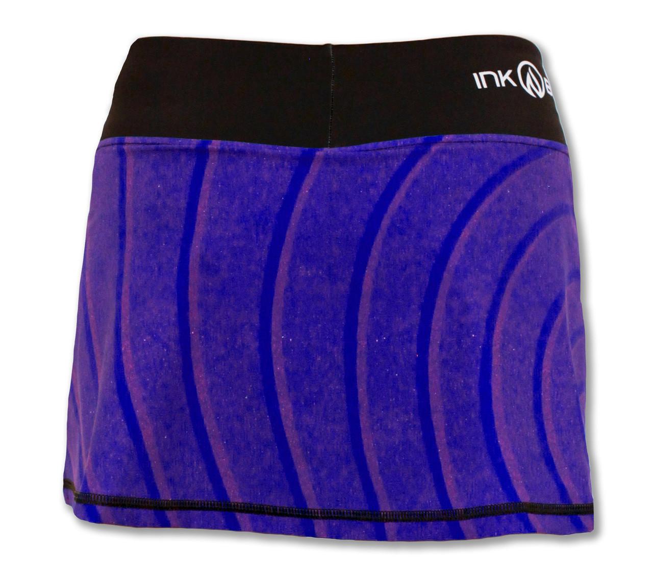 INKnBURN Women's Zen Sport Skirt Back Waistband Up