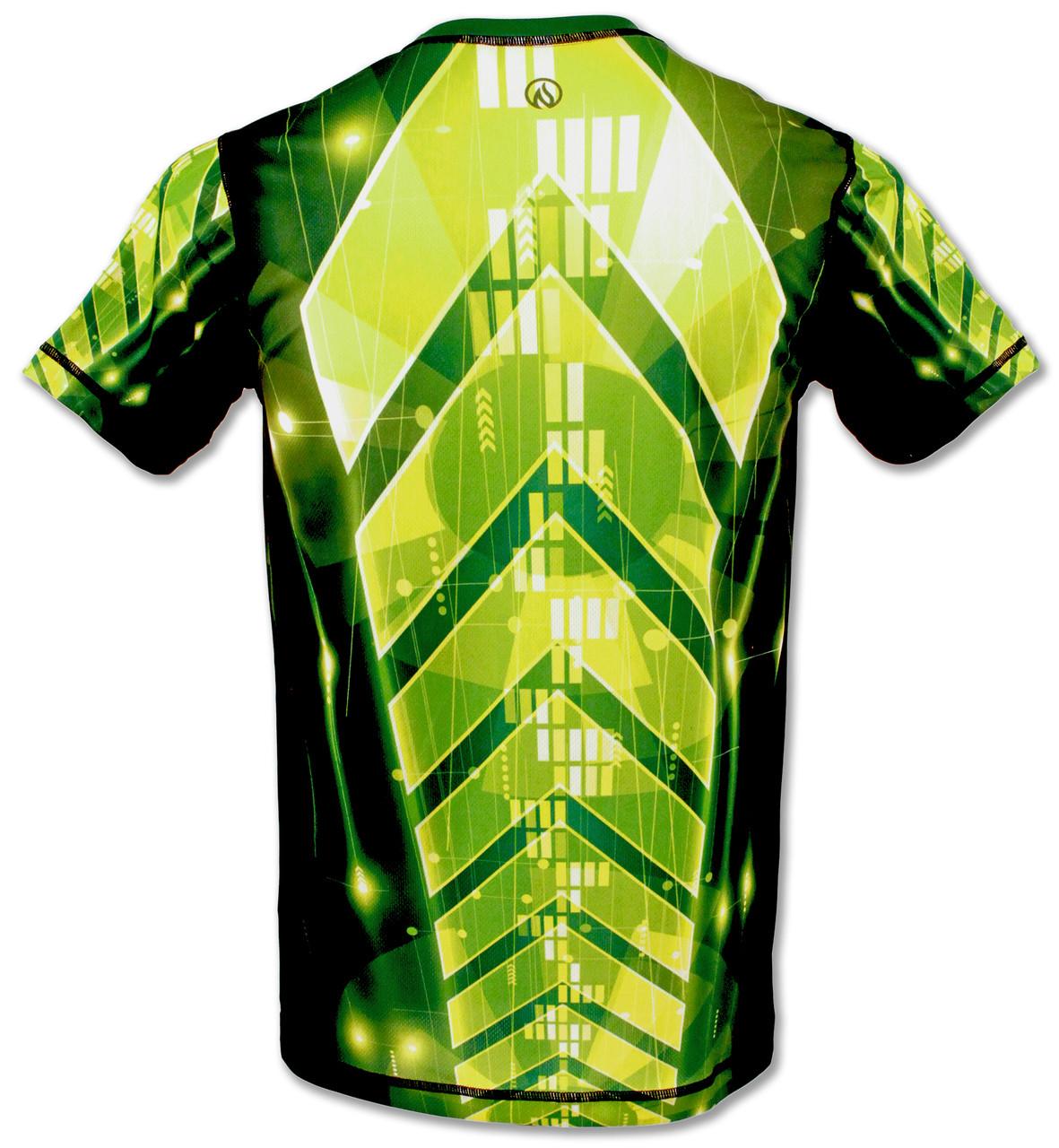 INKnBURN Men's Light Speed Tech Shirt Back