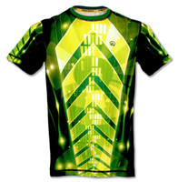 INKnBURN Men's Light Speed Tech Shirt Front
