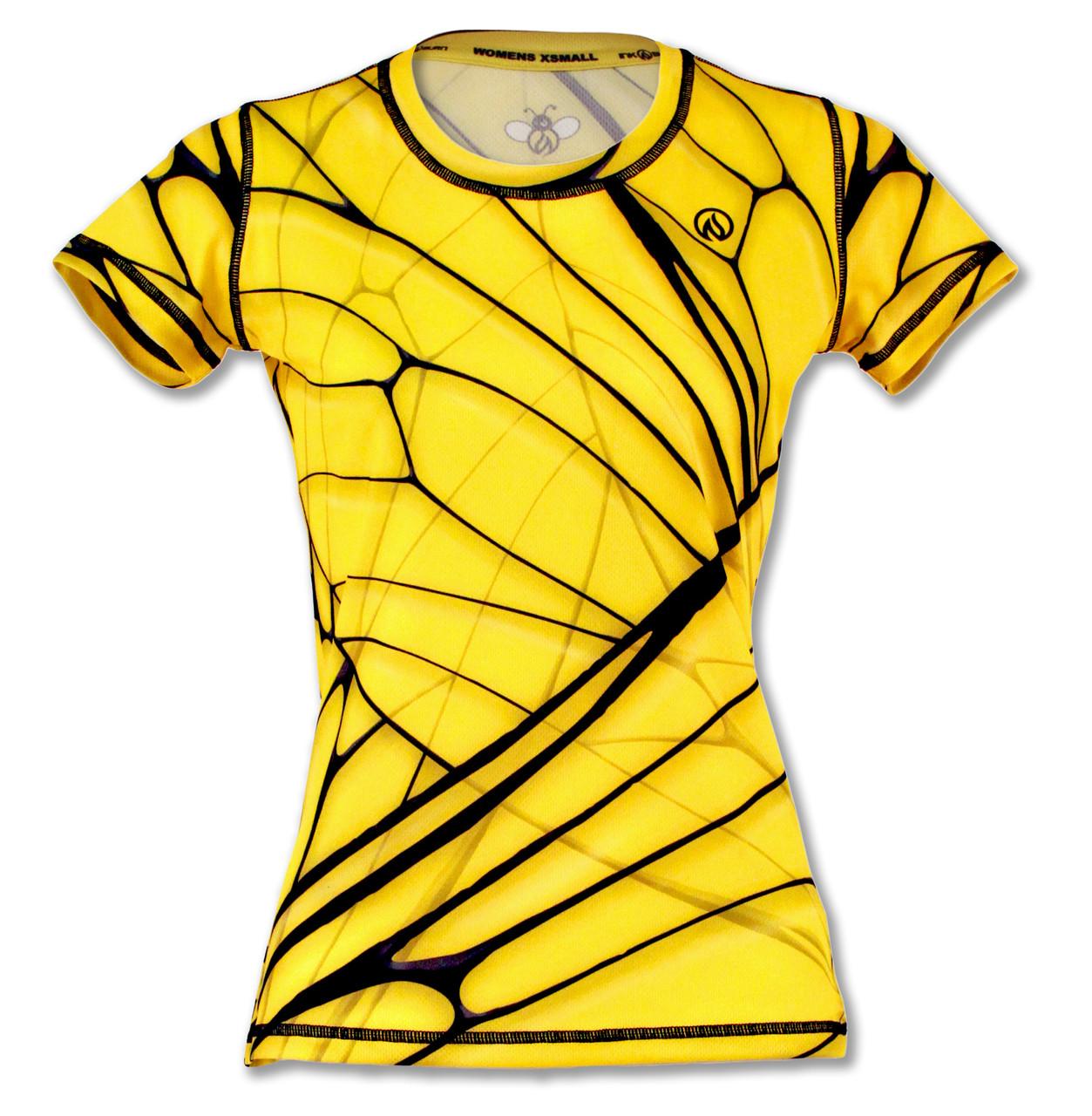 INKnBURN Women's Bee Tech Shirt Front