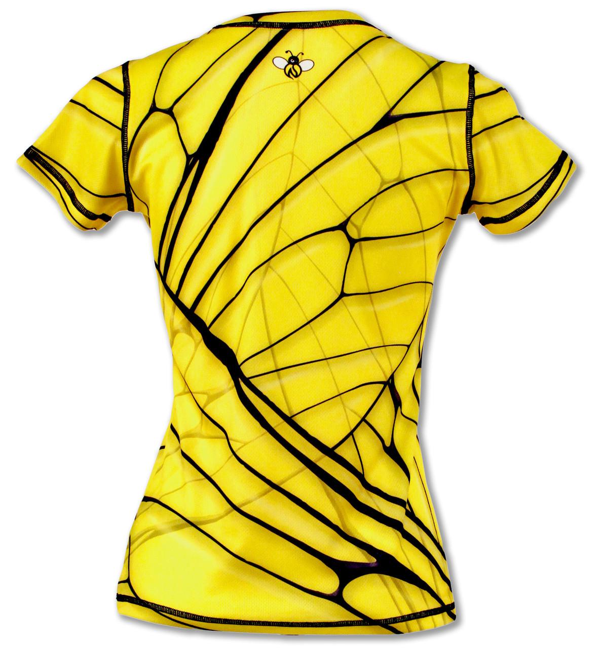 INKnBURN Women's Bee Tech Shirt Back