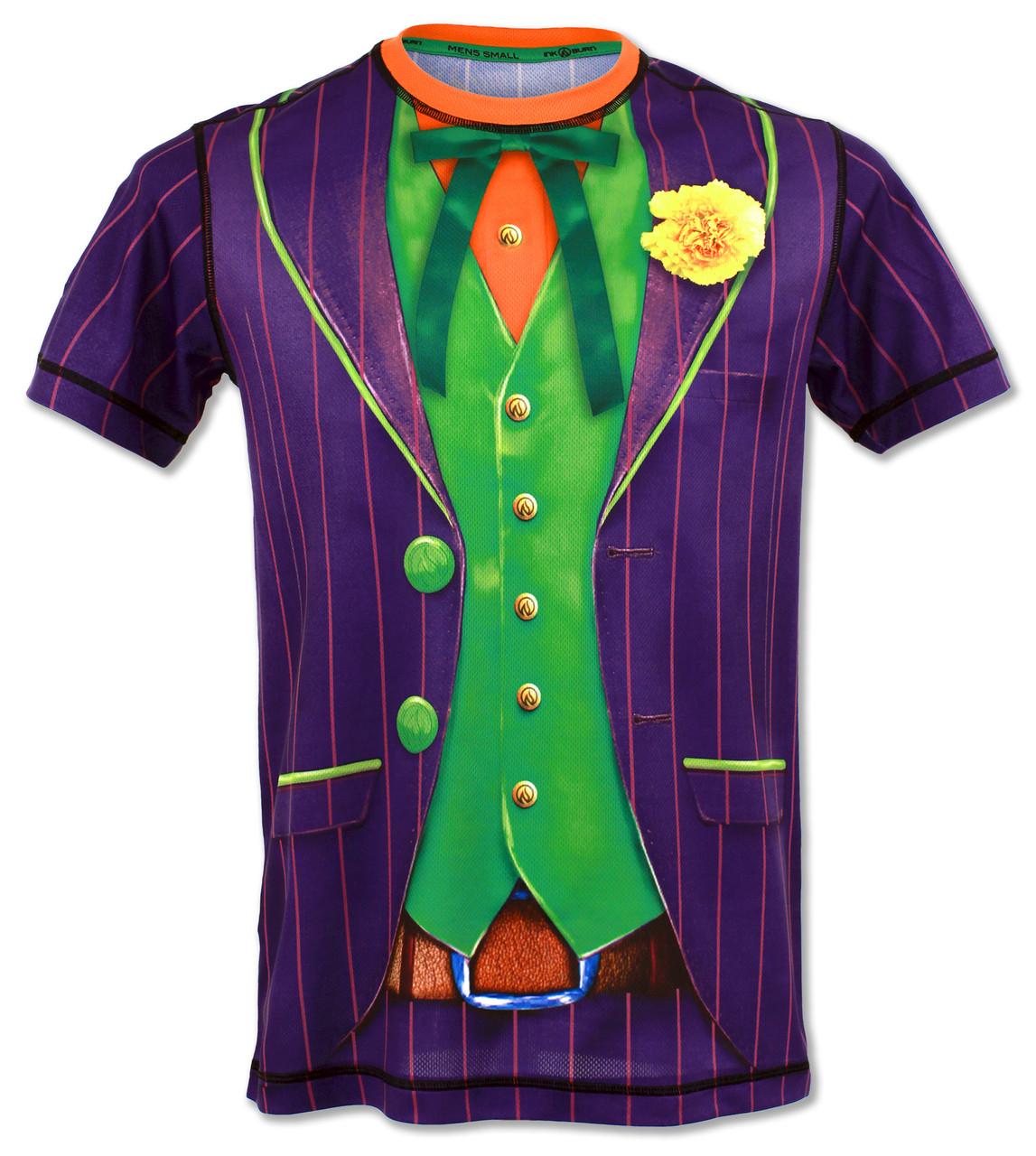 INKnBURN Men's Funny Guy Tech Shirt Front