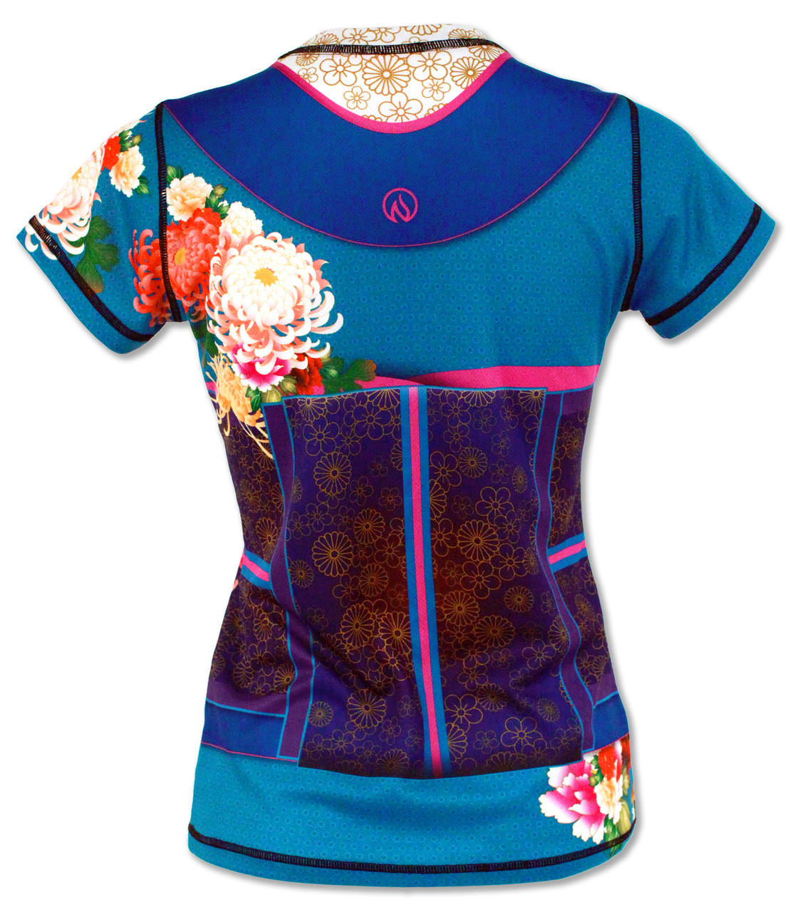 INKnBURN Women's Kimono Tech Shirt Back