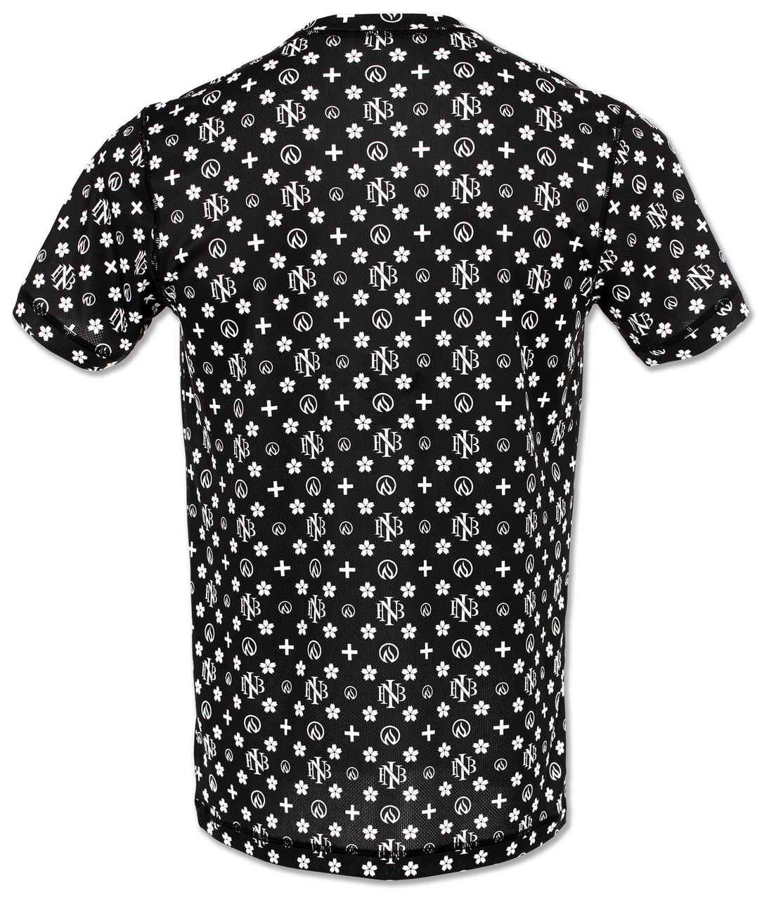 INKnBURN Men's Club INB Monogram Tech Shirt Back