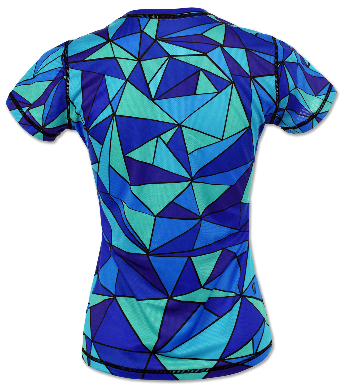INKnBURN Women's Unicorn Tech Shirt Back