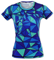 INKnBURN Women's Unicorn Tech Shirt Front