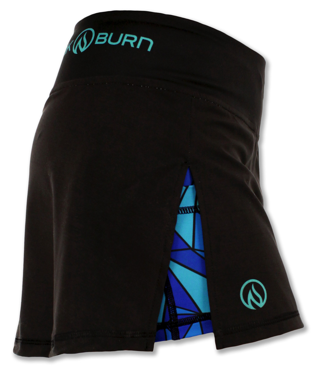 INKnBURN Women's ISO Sport Skirt Right Side Waistband Up