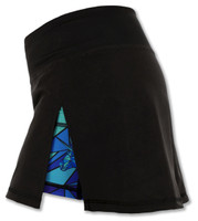 INKnBURN Women's ISO Sport Skirt Left Side Waistband Up