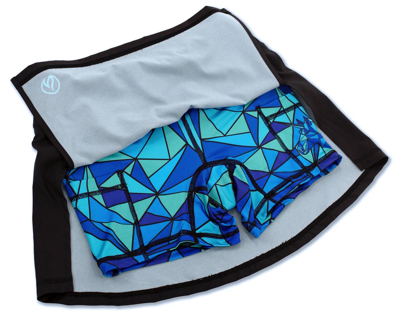 INKnBURN Women's ISO Sport Skirt Flat