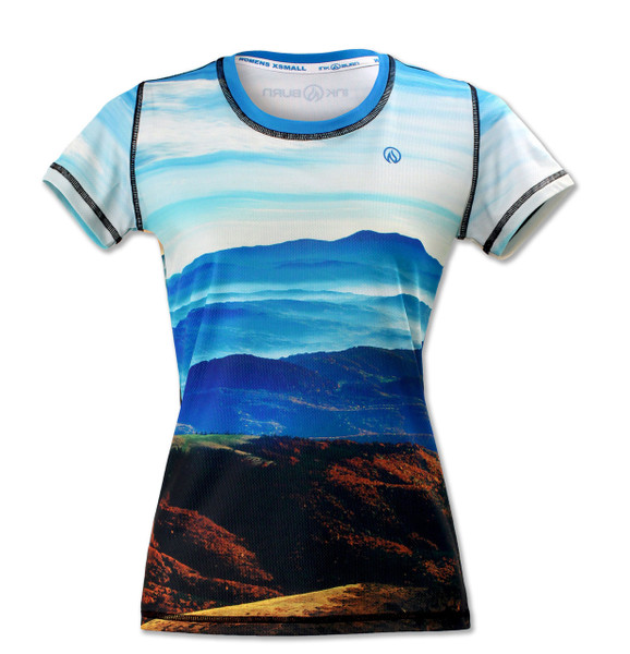 INKnBURN Women's Ascent Tech Shirt Front