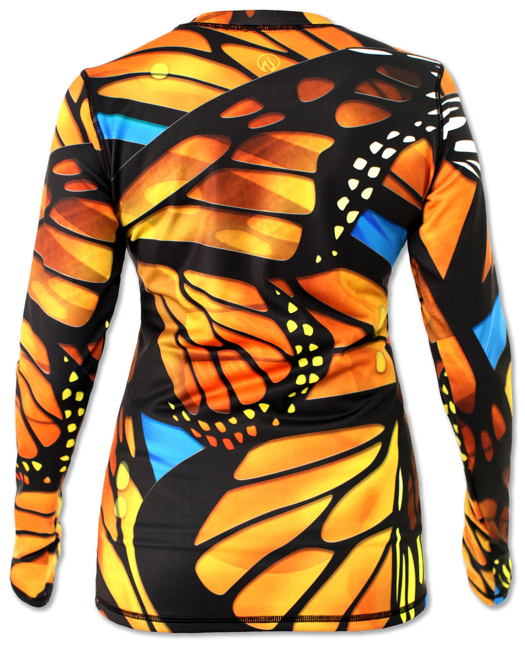 INKnBURN Women's Monarch Pullover with Thumbholes Back