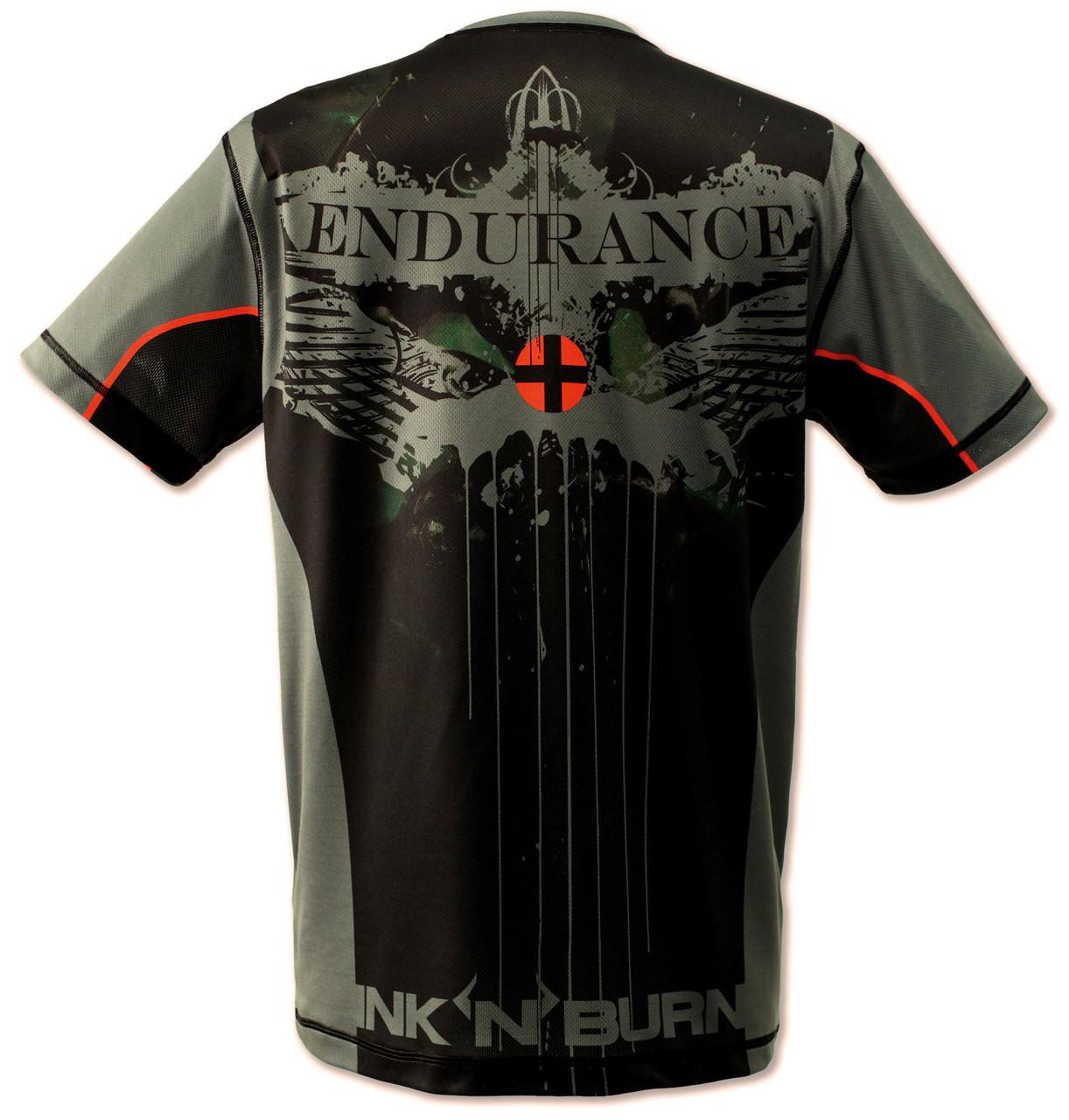 INKnBURN Men's Endurance Tech Shirt Back