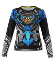 INKnBURN Women's Falcon Long Sleeve Tech Shirt Front