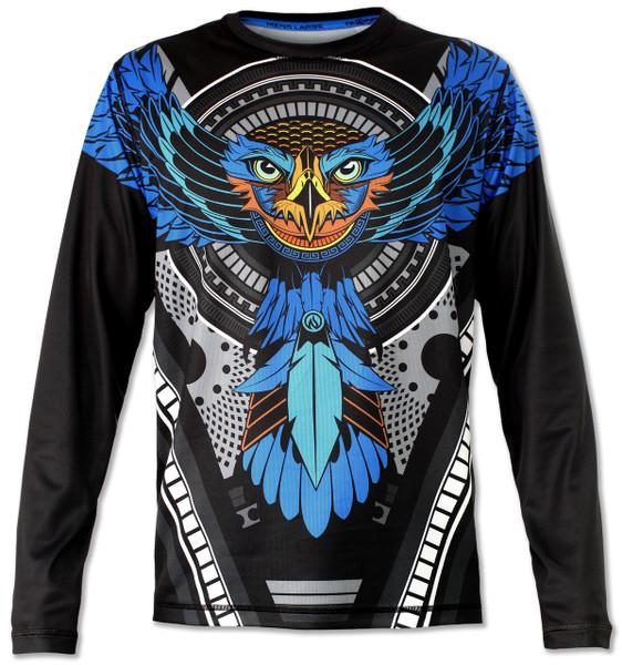 INKnBURN Men's Falcon Long Sleeve Tech Shirt Front