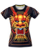 INKnBURN Women's Club INB Fire Dragon Tech Shirt Front