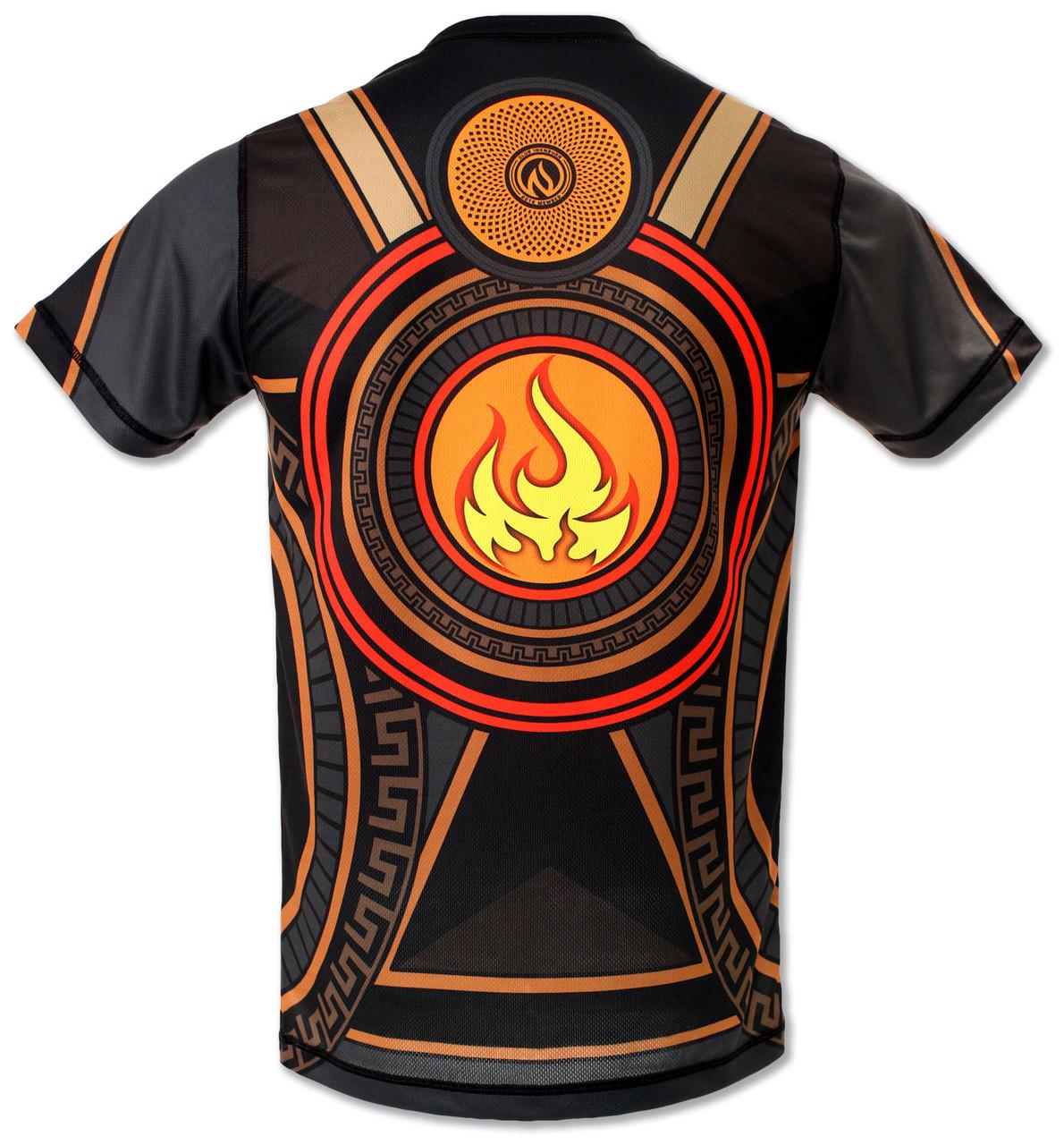 Men's Club INB Fire Dragon Tech Shirt Back