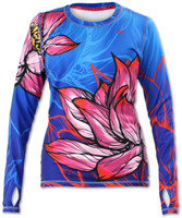 INKnBURN Women's Lotus Pullover with Thumbholes Front