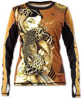INKnBURN Women's Lust Pullover with Thumbholes Front