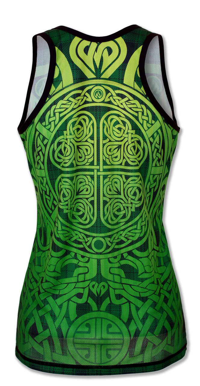 INKnBURN Women's Lucky Singlet Back