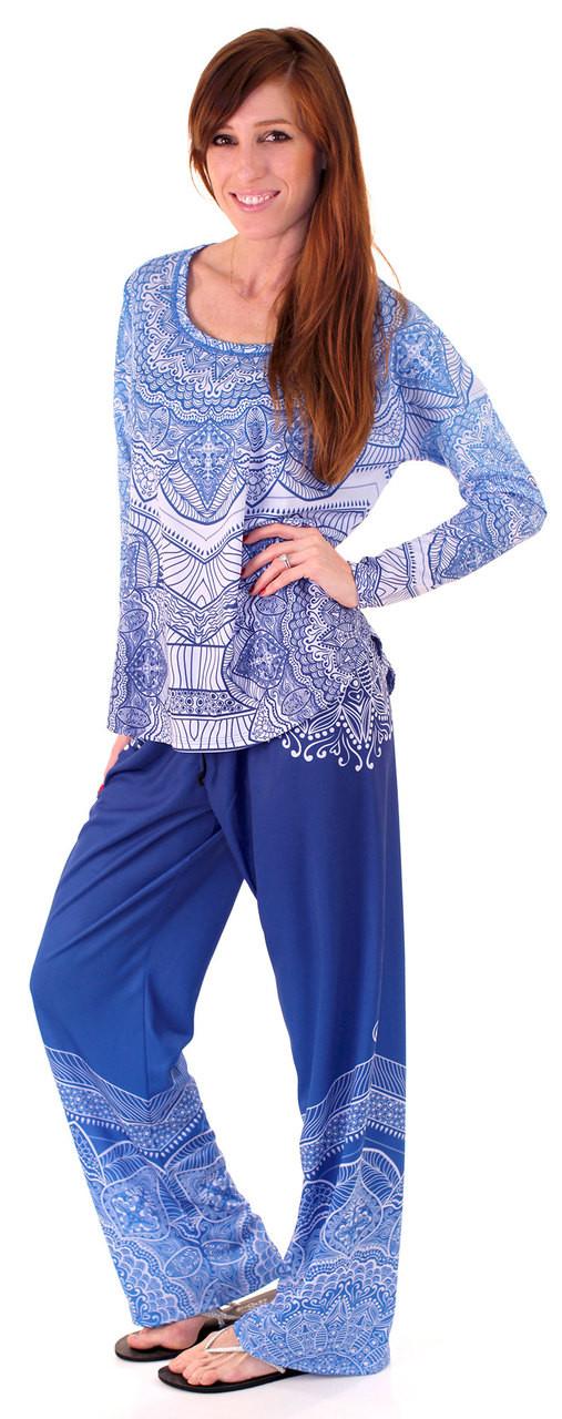 INKnBURN Healing Mandala Lounge Outfit