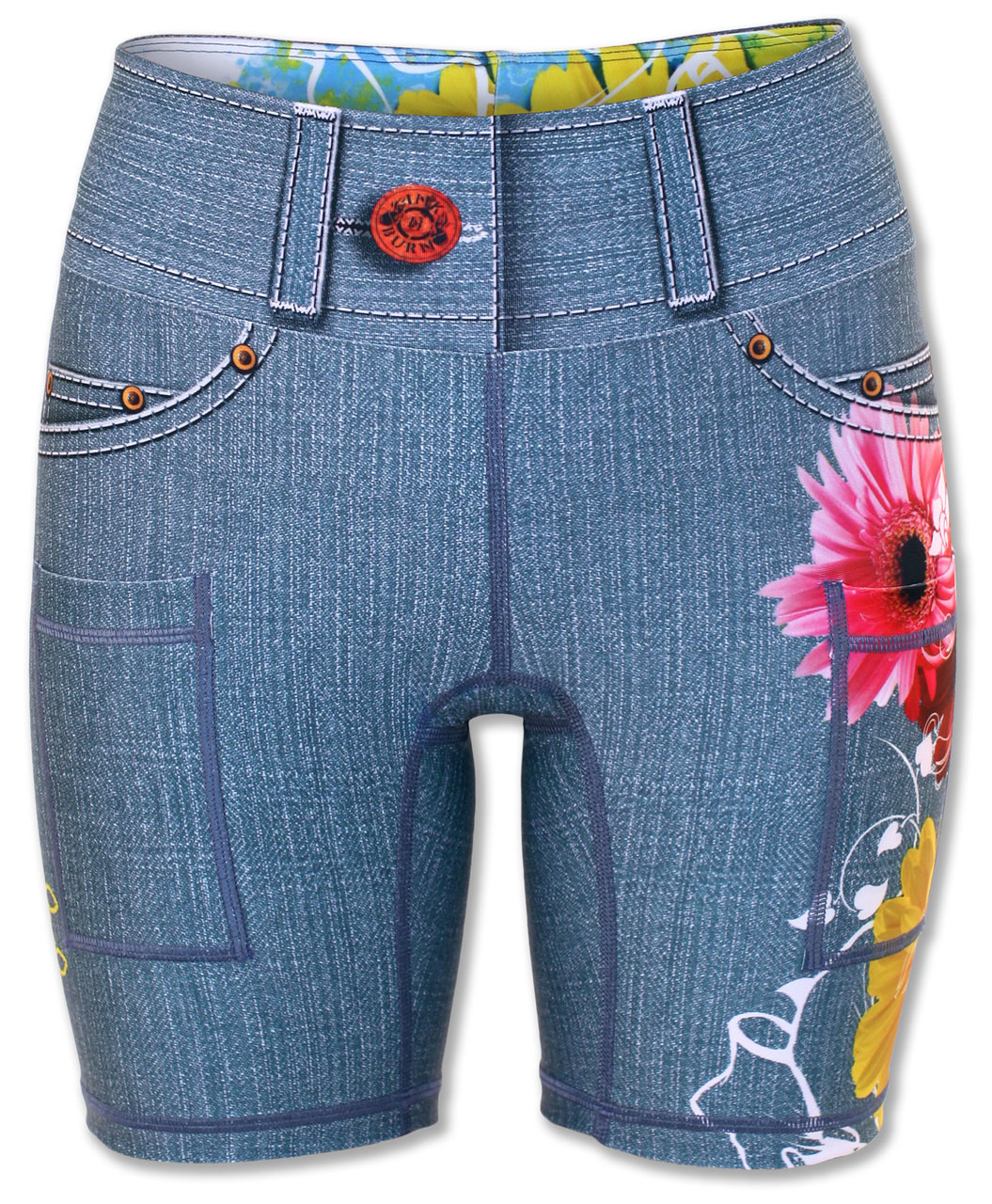 "INKnBURN Women's Wildflower 6"" Shorts"