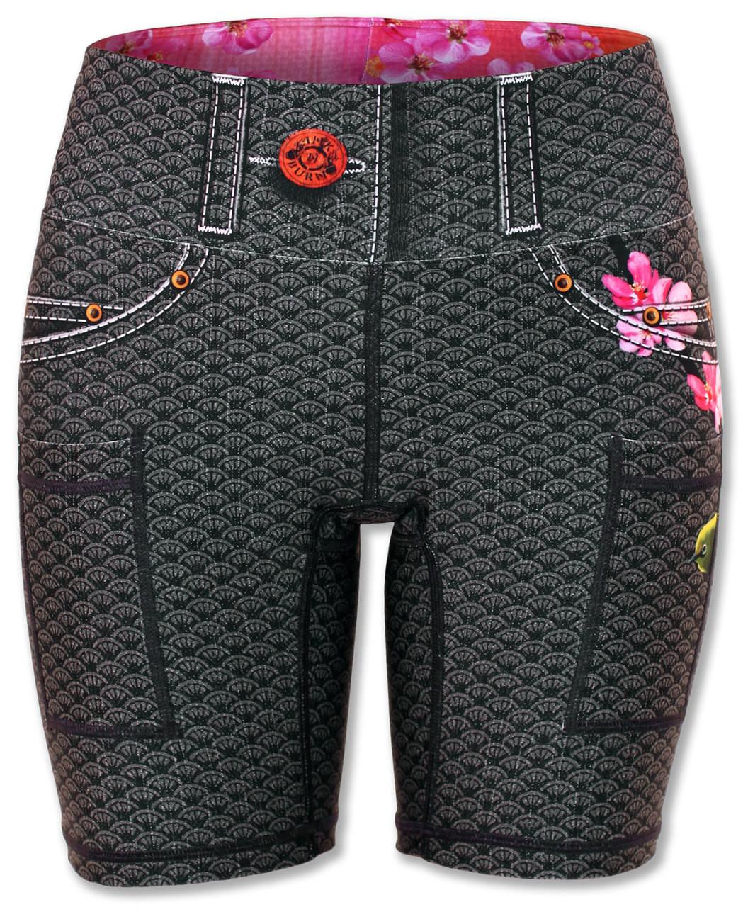 "INKnBURN Women's Mejiro 6"" Shorts Front"