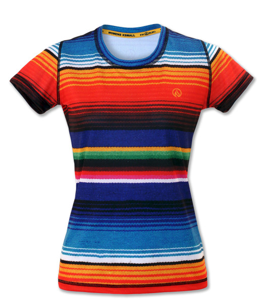 INKnBURN Women's Serape Tech Shirt Front