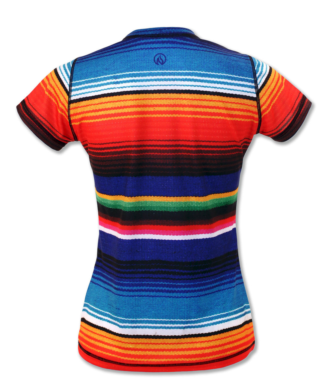 INKnBURN Women's Serape Tech Shirt Back