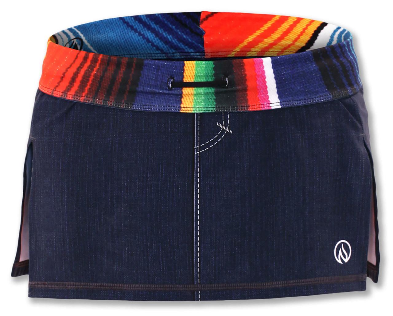 INKnBURN Women's Sarape Sport Skirt