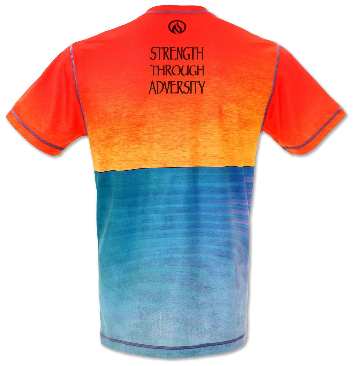INKnBURN Men's Strength Tech Shirt Back