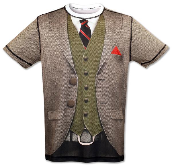 INKnBURN Men's Dapper Tech Shirt Front