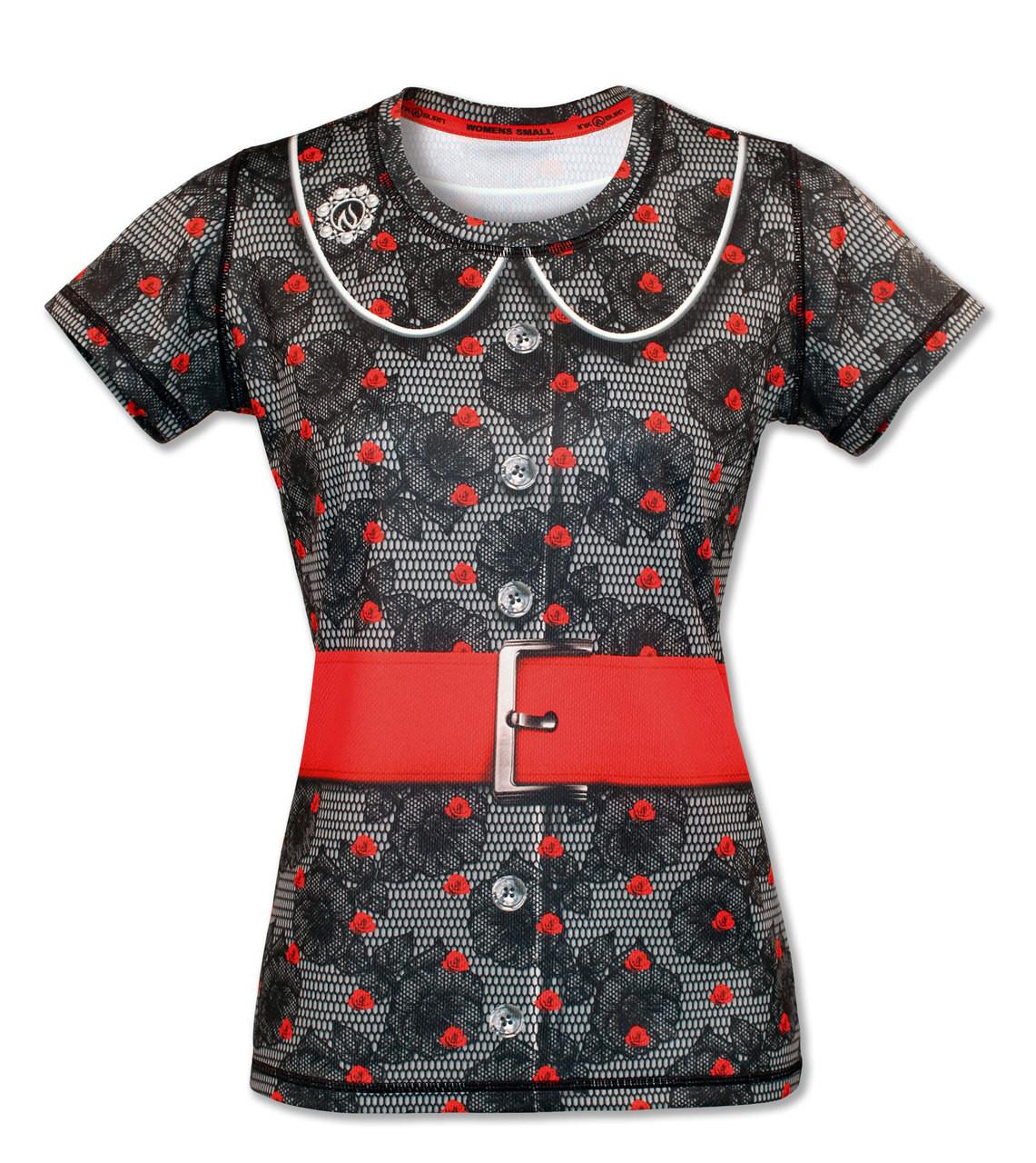 INKnBURN Women's Betty Tech Shirt Front
