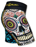 "INKnBURN Women's FBF Calavera 6"" Shorts Side"