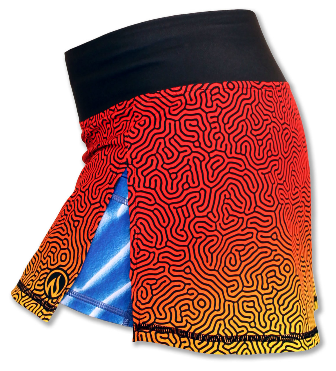 INKnBURN Coral Sport Skirt Side