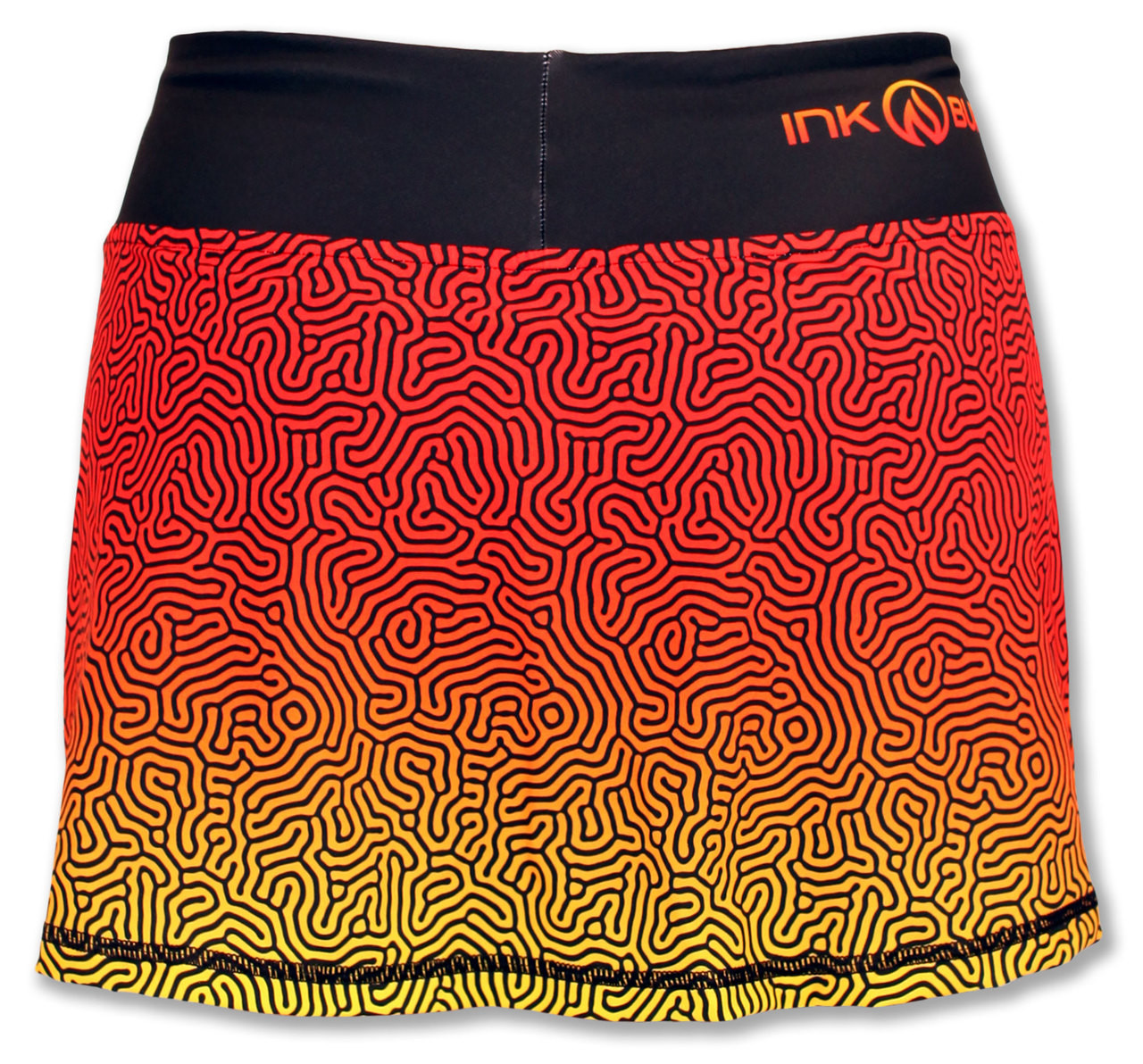 INKnBURN Coral Sport Skirt Back