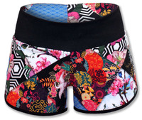 INKnBURN Women's Origami Shorts Front